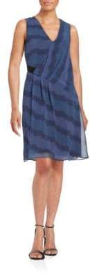Rachel Roy Pleated Shift Dress