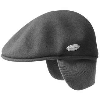 Asstd National Brand Kangol Wool Ivy Cap with Rib Knit Earflaps