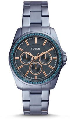 Fossil Janice Multifunction Steel Blue Stainless Steel Watch