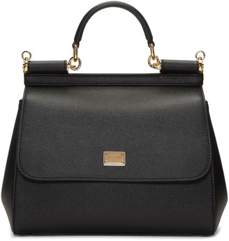 Dolce & Gabbana Black Medium Miss Sicily Bag $1,695 thestylecure.com