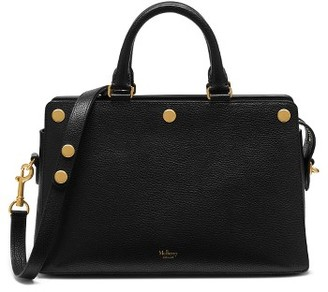 Mulberry Chester Leather Satchel - Black $1,600 thestylecure.com