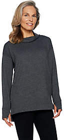 Cuddl Duds Comfortwear French Terry Long SleeveSoft Mock Tunic