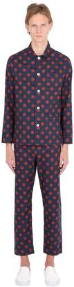 Polka Dots Printed Cotton Pajama Set