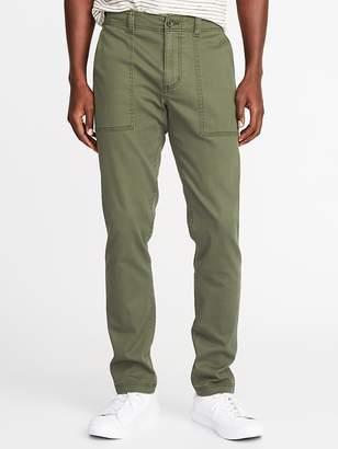 Old Navy Relaxed Slim Built-In Flex Utility Pants for Men