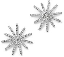 Bloomingdale's Diamond Starburst Statement Earrings in 14K White Gold, 0.50 ct. t.w. - 100% Exclusive