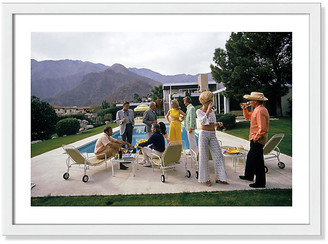 Photos By Getty Images Slim Aarons - Desert House Party - Photos by Getty Images Art