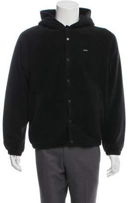 Supreme 2018 Polartec Hooded Raglan Jacket w/ Tags