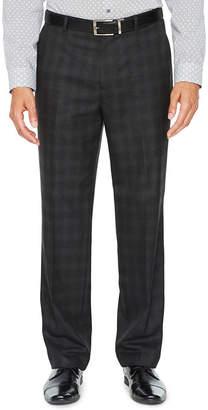 Jf J.Ferrar Plaid Slim Fit Stretch Suit Pants - Slim