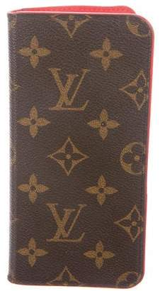 Louis Vuitton 2017 Monogram iPhone 7 Plus Folio Case