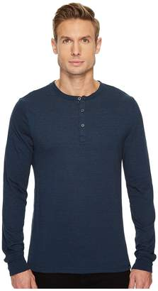 Threads 4 Thought Tri-Blend Long Sleeved Henley Men's Clothing