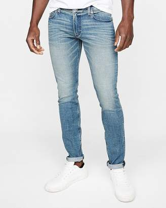 Express Super Skinny Medium Wash Stretch+ Jeans