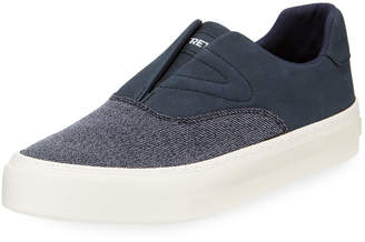 Tretorn Men's Marlin Suede and Denim Sneakers