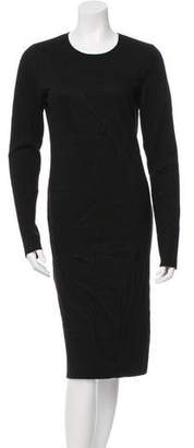 Maison Margiela Long Sleeve Textured Dress w/ Tags