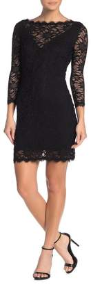 Jump Scalloped Lace Bodycon Dress