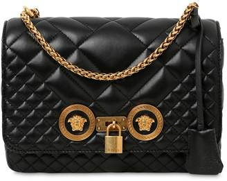 Versace Medium Icon Quilted Leather Shoulder Bag