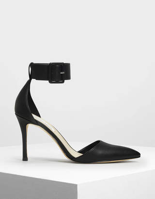 Charles & Keith Ankle Cuff Heels