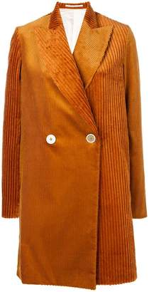 Golden Goose double breasted corduroy coat