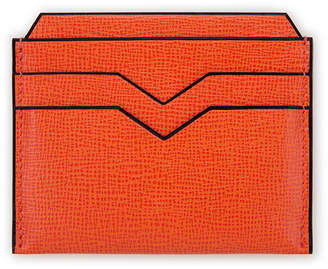 Valextra Textured Leather Card Case