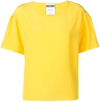 Moschino relaxed yellow T-shirt