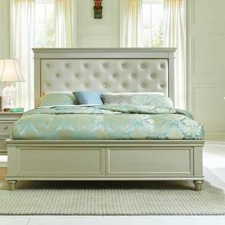 Celine Willa Arlo Interiors Upholstered Panel Bed