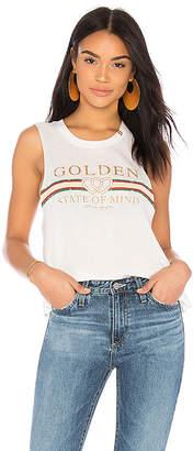 Spiritual Gangster Golden State Crop Tank