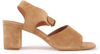 SESSUN Maadi Suede Sandals $272.40 thestylecure.com