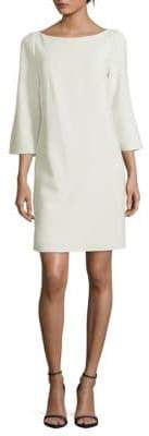 Lafayette 148 New York Mari Three-Quarter Shift Dress