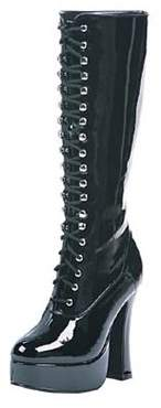 ELLIE SHOES Easy Black Boots Women's Adult Halloween Costume Accessory