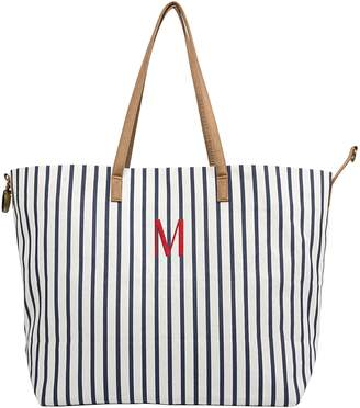 Cathy's Concepts Monogram Overnight Tote