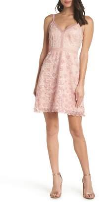 Foxiedox Elisabet 3D Lace Cocktail Dress