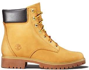 Timberland Women's Jayne Round Toe Waterproof Leather Boots