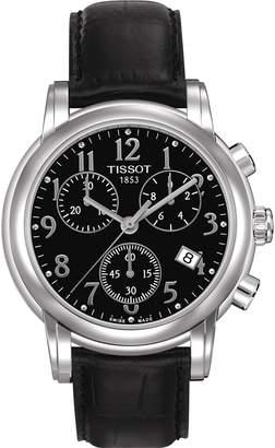 Tissot Women's Dressport T050.217.16.052.00 Leather Swiss Chronograph Watch