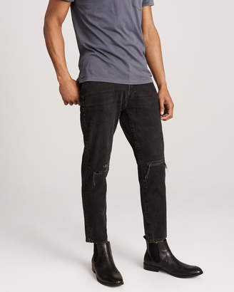 Abercrombie & Fitch Ripped Skinny Cropped Jeans