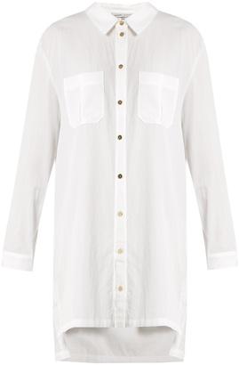 HEIDI KLEIN Maine step-hem lightweight shirtdress $145 thestylecure.com