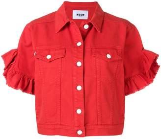 MSGM short-sleeved jacket