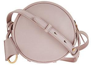 As Is Isaac Mizrahi Live! Nolita Lamb Leather Canteen Handbag