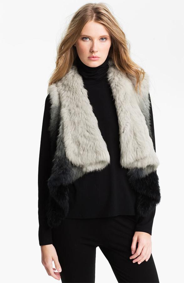 Alberto Makali Genuine Rabbit Fur Vest