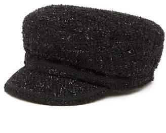 Free Press Metallic Tweed Newsboy Hat