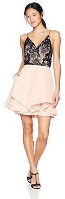 Amy Byer A. Byer Junior's Strappy Sweetheart Party Dress