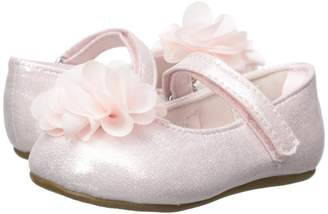 Baby Deer First Steps Ballet with Flower Girl's Shoes