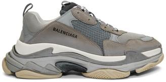 e037ff41dc30 Balenciaga Grey Triple S Sneakers