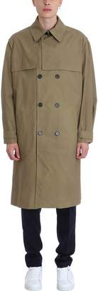 Kenzo Taupe Cotton Trench Coat