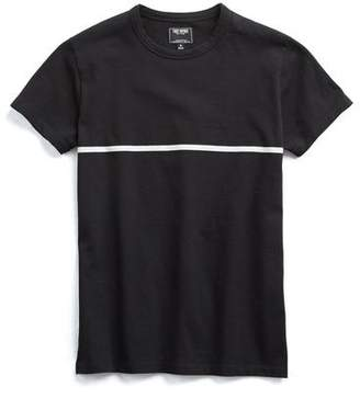 Todd Snyder Black And White Stripe Tee
