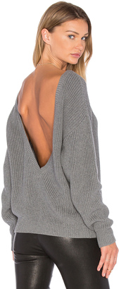 Callahan V Back Sweater $101 thestylecure.com