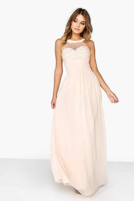 Outlet Little Mistress Nude Pearl Maxi
