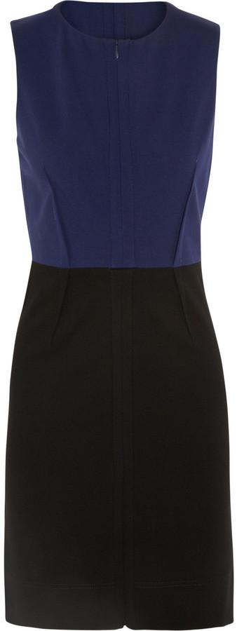 Diane von Furstenberg Parquet paneled stretch-jersey dress