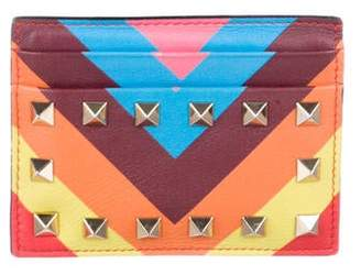 Valentino Leather Rockstud CardHolder
