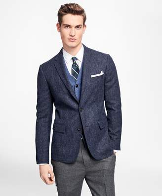 Brooks Brothers Three-Button Donegal Sport Coat