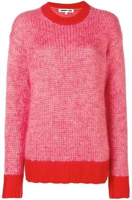 McQ melange knitted jumper