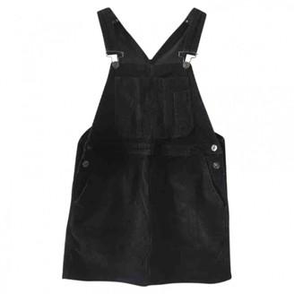 Urban Outfitters Black Velvet Dress for Women